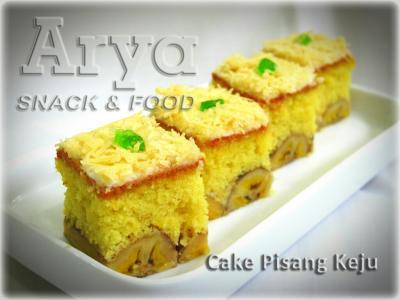 Cake Pisang Keju