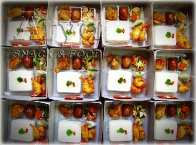 Nasi & Masakan Box